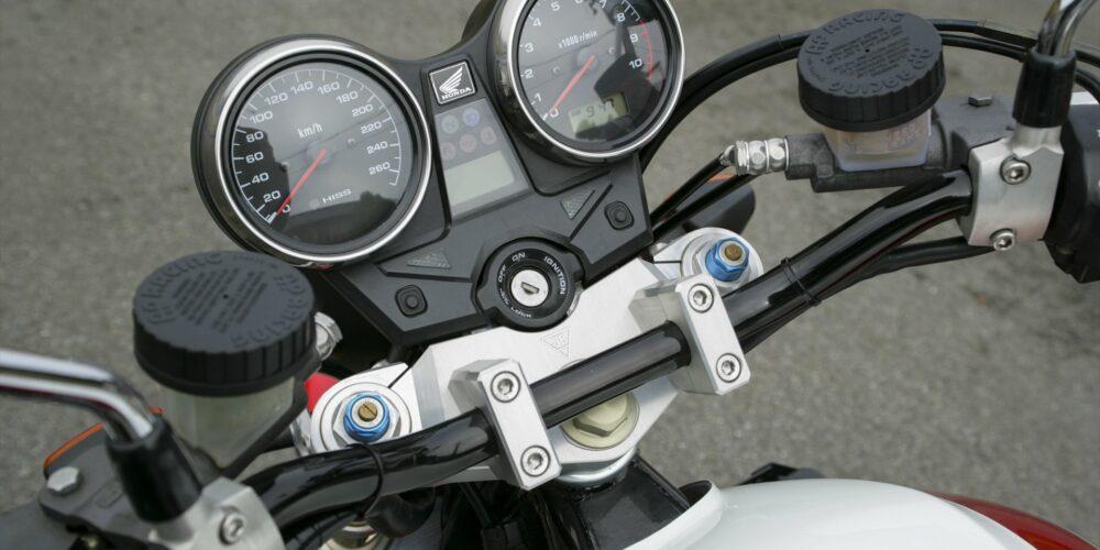 classic motorcycle speedometer