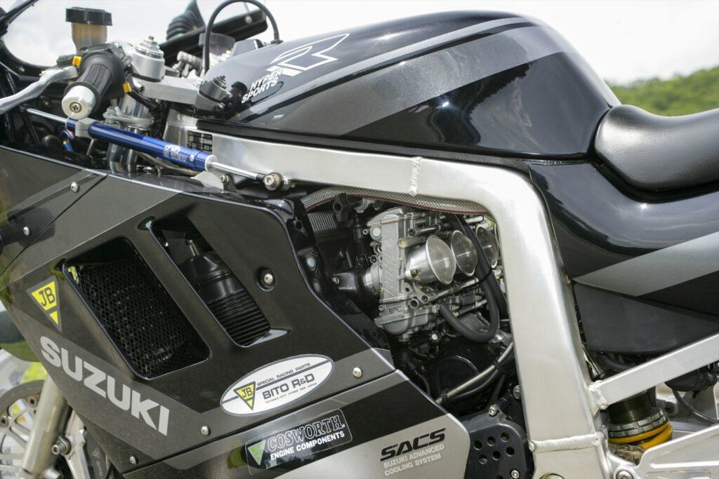Suzuki GSX-R1100, cosworth racing pistons