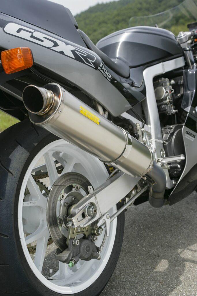 Suzuki GSX-R1100 Titanium Exhaust