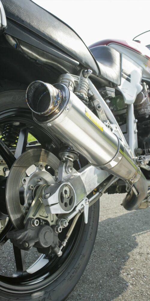 Suzuki GSX1100S Exhaust system