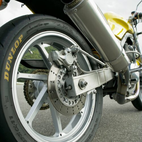 classic Yamaha SRX600 Motorbike