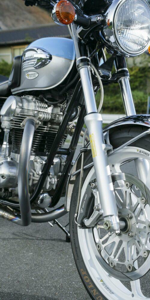 kawasaki classic motorcycle