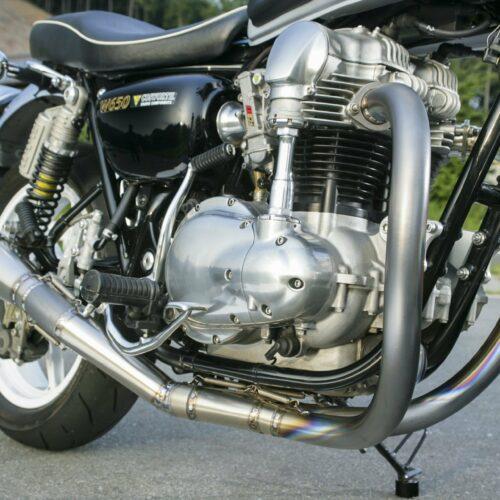 Titanium Hand Bend Exhaust Kit
