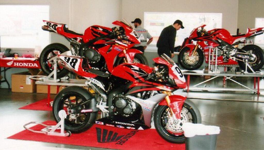 Honda CBR1000RR competes on MAGTAN